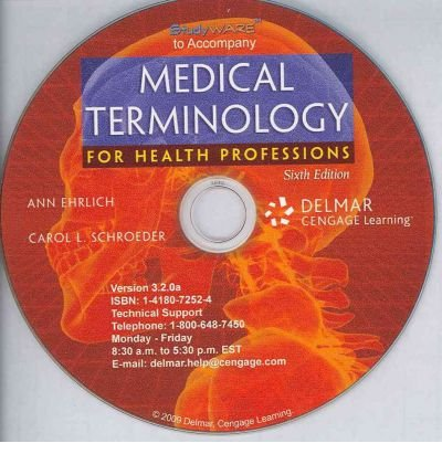 Studyware for Ehrlich/Schroeder's Medical Terminology for Health Professions, 6th