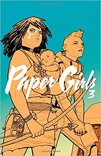 Image result for paper girls volume 3