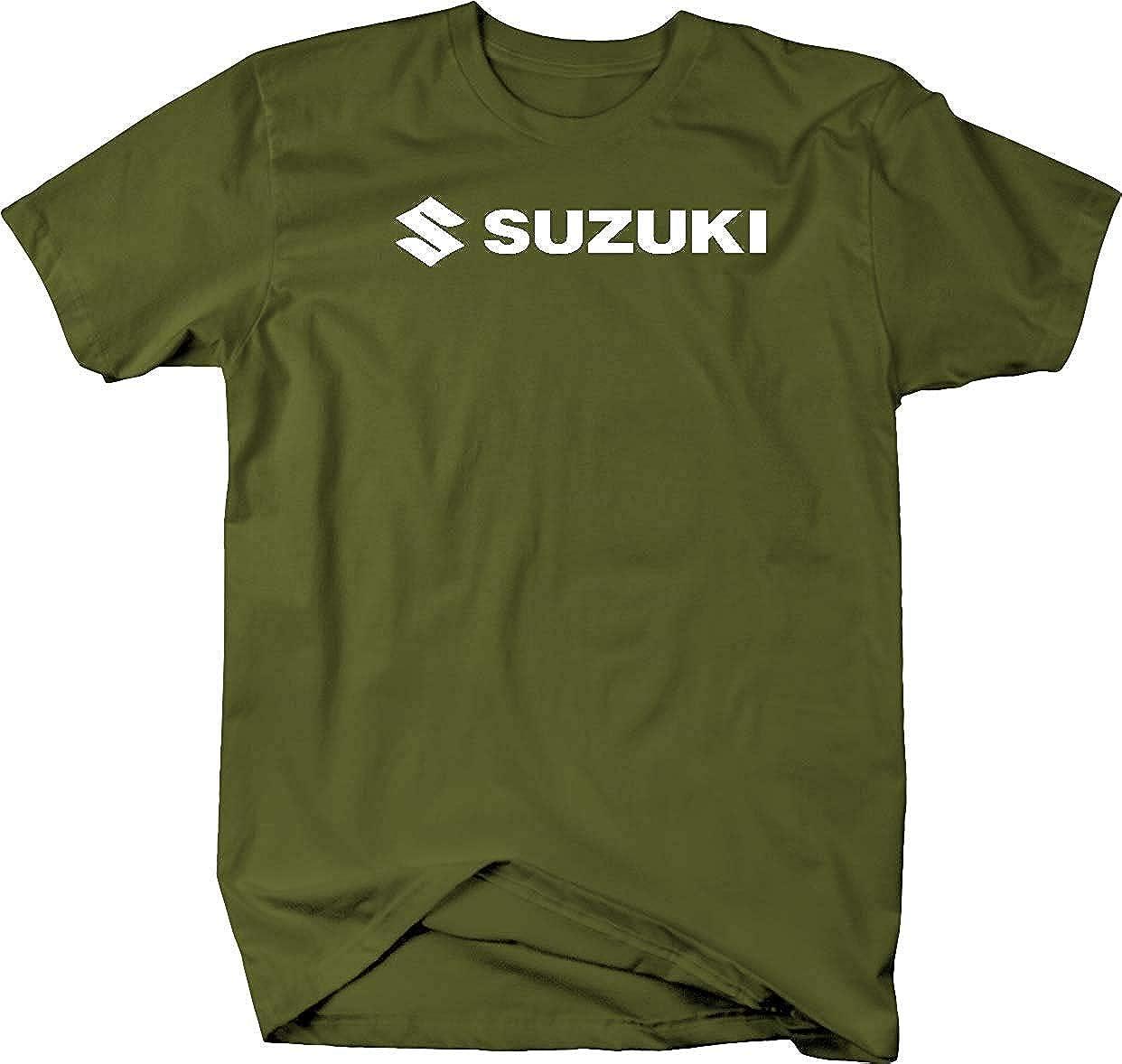 Seite mit Seite Motorrad f/ür Suzuki S Club Tee 4x4 Racing Herren T-Shirt
