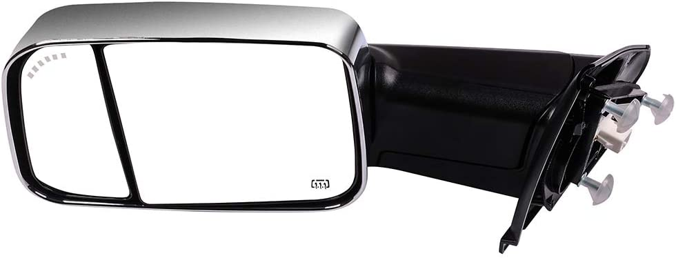 AUTOMUTO Towing Mirrors Fit Compatible with 2002-2008 Dodge Ram ...