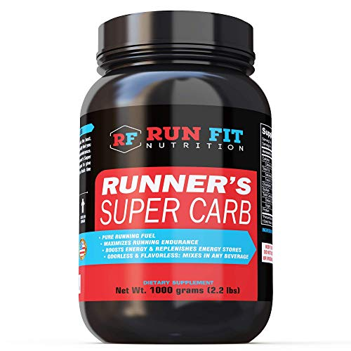 Runner's Super Carb – Pure Running Energy – Boosts Endurance & Energy – Mix in Any Beverage – Maltodextrin – Made in The USA!