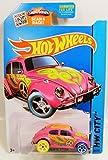 Hot Wheels, 2015 HW City, Treasure Hunt Volkswagen Beetle [Pink] Die-Cast Vehicle #26/250