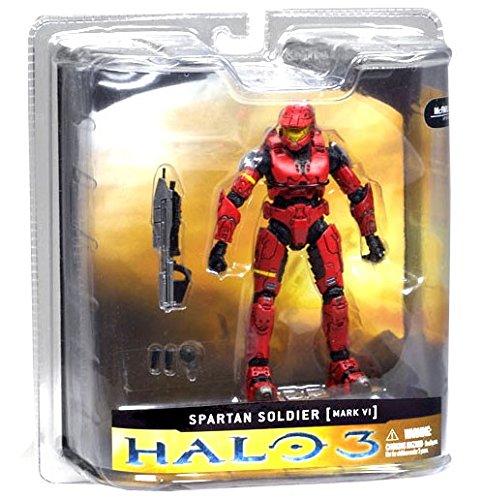 McFarlane Toys Halo 3 Series 1 - Spartan Soldier Mark VI Armor -