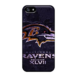Hot AeT1624inPK Cases Covers Protector For Iphone 5/5s- Baltimore Ravens