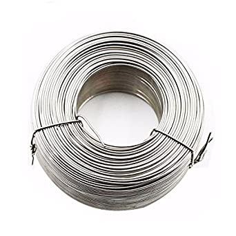 Amazon.com: 5 Pounds Stainless Steel Tie Wire Coil - 16 Gauge ...