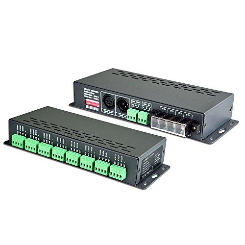 LEDBUY360 24CH 72A DMX-PWM CV Decoder DMX512 Controller by LEDBUY360