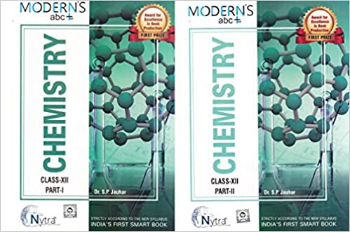 Modern ABC of Chemistry Class-12 Part I & Part II Set of 2