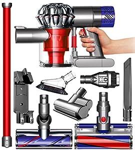 Dyson v6 absolute cordless hepa vacuum for Dyson mini motorized tool uses