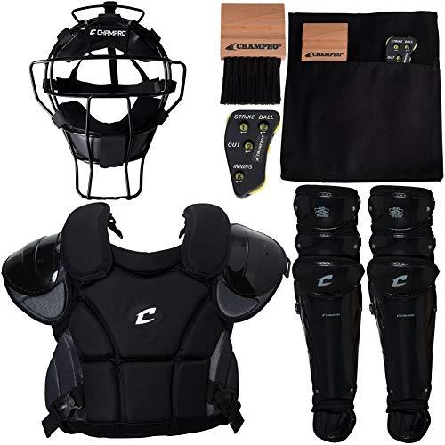 CHAMPRO Varsity Umpire Kit: Professional Grade Baseball/Softball Umpire Gear Box Set