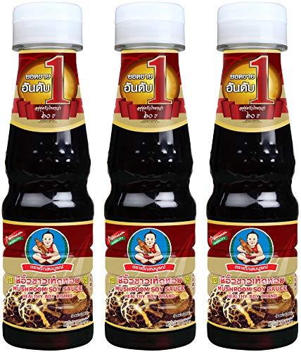 (Healthy Boy Thai Mushroom Soy Sauce, 5 Fl Oz, Product of Thailand (Pack of 3) )