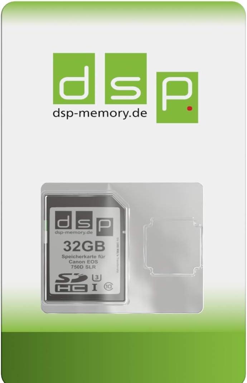 Dsp Memory 32gb Ultra Highspeed Speicherkarte Für Canon Computer Zubehör