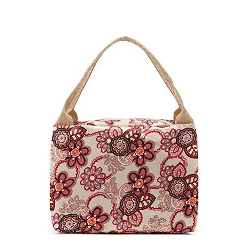 GSPStyle - Bolso mochila  para mujer, beige (Beige) - 005060 beige