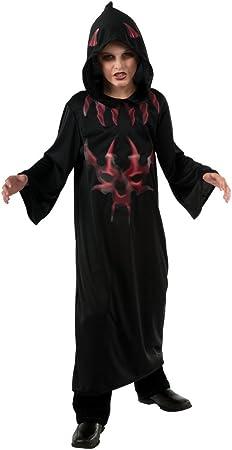 Halloween - Disfraz de Diablo Rojo de la Noche para niño, infantil ...