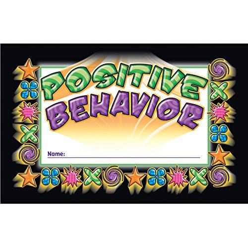 North Star Teacher NST2406BN Punch Cards, Positive Behavior, 36/Pk, 6 Packs/CT
