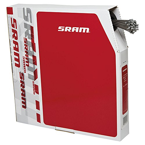 SRAM 1.1Mm X 2200Mm Stainless Derailleur Cables Box/100 ()
