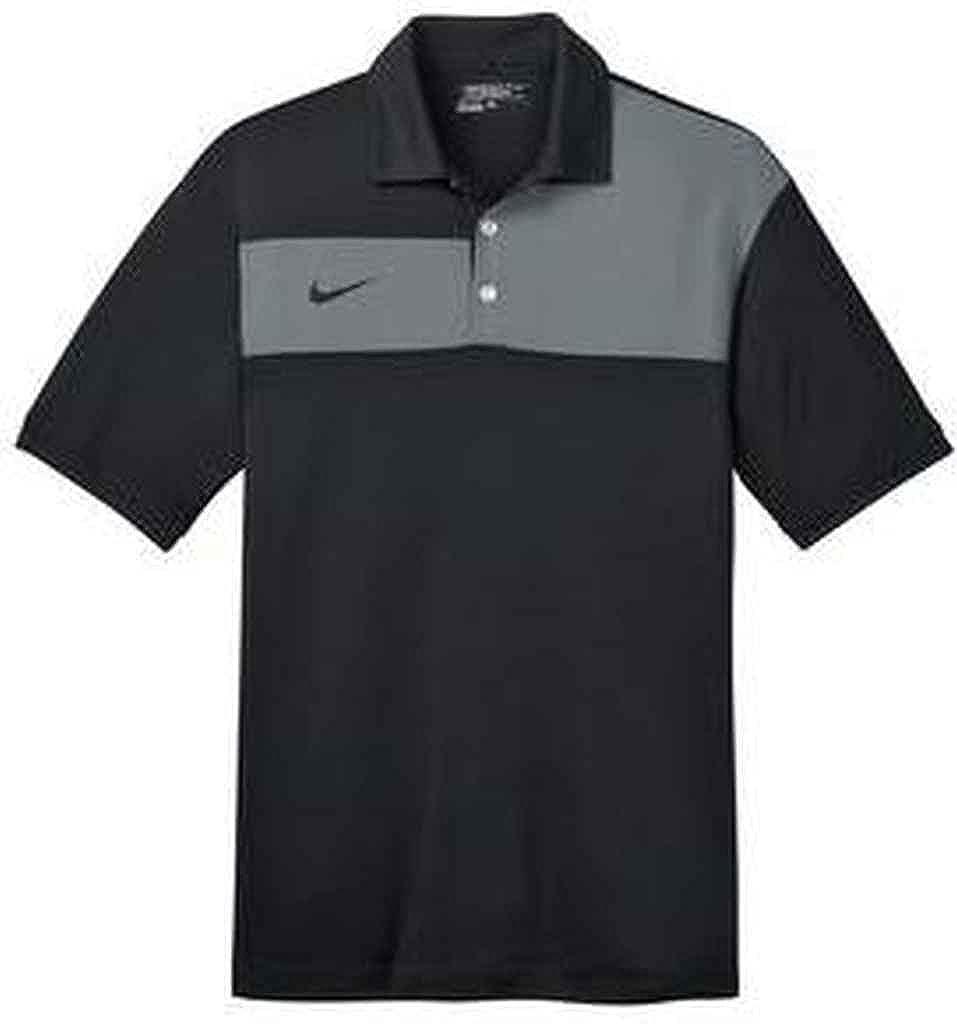 b794e40e Nike Golf Dri-FIT Sport Colorblock Polo. 527806, Blk/Flint/Blk 2XL:  Amazon.ca: Clothing & Accessories