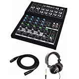 Mackie Mix8 8-channel Compact Mixer with Full Size Studio...