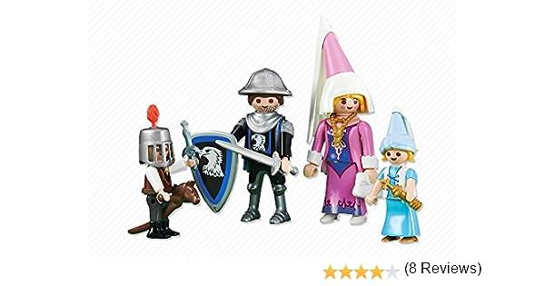 Playmobil - Familia de caballeros: Amazon.es: Juguetes y juegos