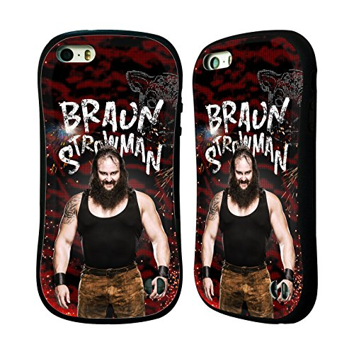 Official WWE LED Image Braun Strowman Hybrid Case for Apple iPhone 5 iPhone 5s iPhone SE