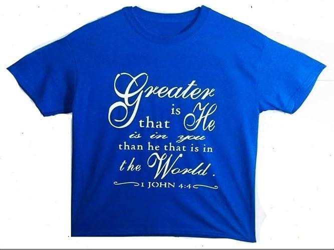 Amazon com: Christian T-shirt for Women/Bible Verse