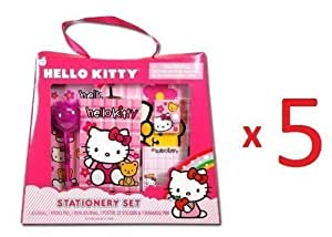 Hello Kitty Stationery Set in Tote Shaped Window Box