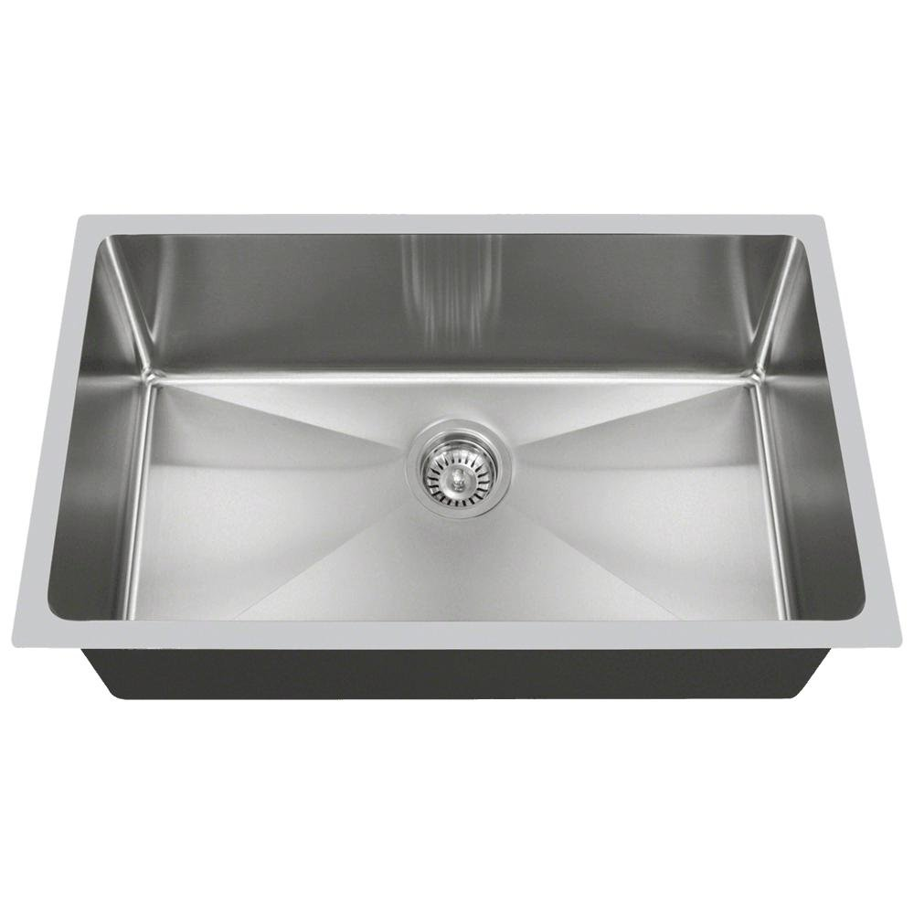 Single Kitchen Sinks 3120s 14 gauge undermount single bowl 34 inch radius kitchen sink 3120s 14 gauge undermount single bowl 34 inch radius kitchen sink amazon workwithnaturefo