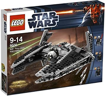 Lego Star Wars 9500 Sith Fury Class Interceptor Amazoncouk Toys