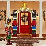 Jolik Christmas Nutcracker Banner Decorations