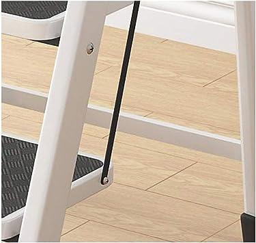 Escalera de mano Taburete plegable Escalera de interior Taburete Escalera plegable for el hogar Taburete Pedal de hierro engrosado Escalera de dos escalones Escalera pequeña Escalera de cuatro escalon: Amazon.es: Electrónica