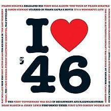 1946 Birthday Gifts - I Love 1946 Greetings Card , Chart Hits Music CD , 20 Original Songs