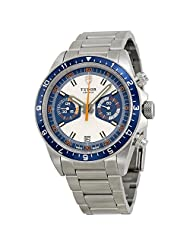 Tudor Heritage Chronograph Stainless Steel Mens Watch 70330B-95740