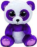 Carletto Ty 37207 - Boom Boom, Panda mit Glitzeraugen, 15 cm, violett/weiß