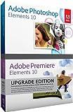 Adobe Photoshop Elements and Premiere Elements 10 Bundle, Upgrade version (PC/Mac)