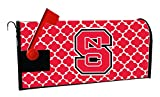 NC STATE WOLFPACK MAILBOX COVER-NORTH CAROLINA STATE UNIVERSITY MAGNETIC MAIL BOX COVER-MOROCCAN DESIGN