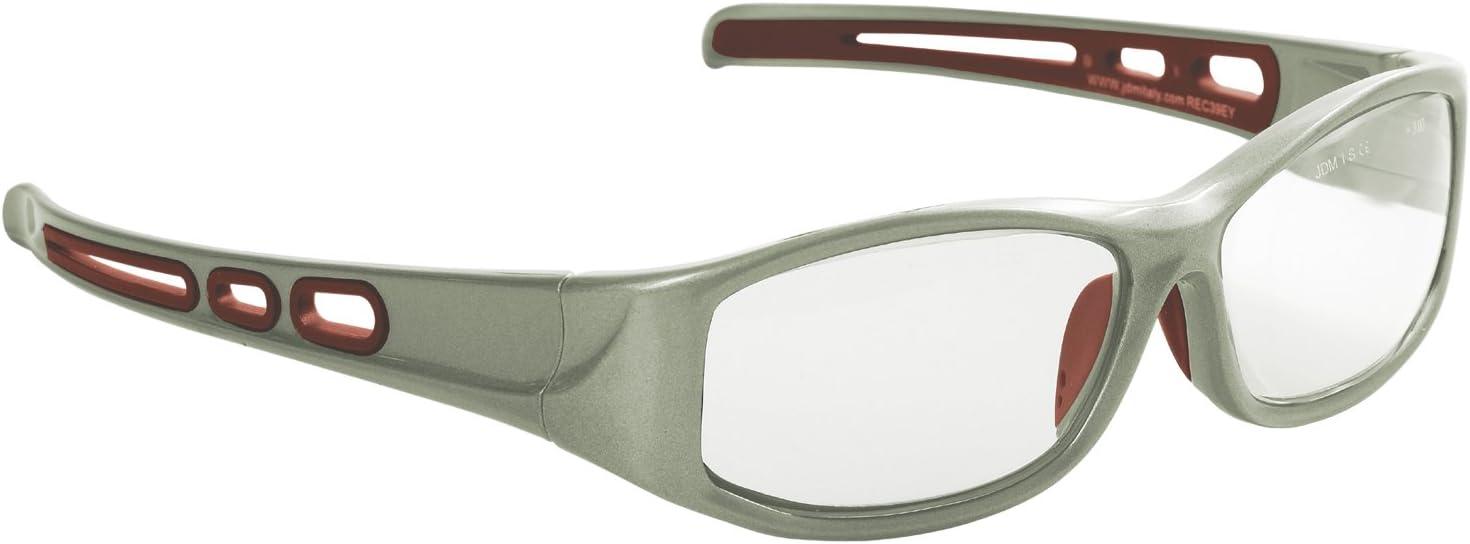 Eagle REC39EY10 Gafa de protección laboral con lentes de CR 39-Vidreo T graduada de +1 dioptrías monofocal, para vista cansada. Incluye funda microfibra y cordón sujetador