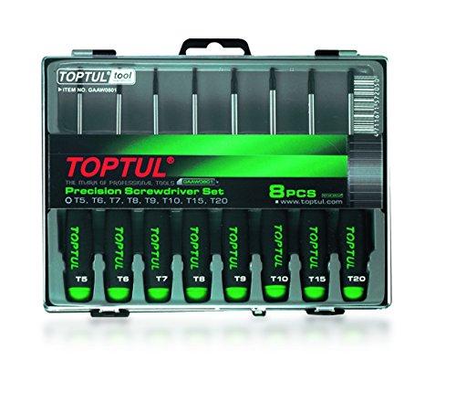 Precision Torx Screwdriver Set 9pcs T5-T20