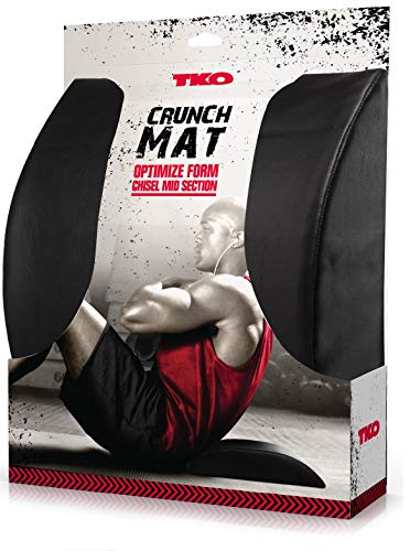 TKO Extreme Ab Mat Crunch Sit Up Booster Wedge - Black by TKO