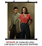 Marvels Agent Carter TV Show Fabric Wall Scroll Poster (32x43) inches