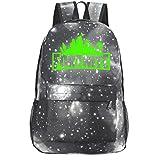 Fortnite Battle Royale Game Backpack Unisex Vintage Canvas Laptop Rucksack School Bookbag Travel Hiking Bag (Gray)