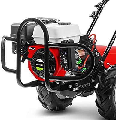 Greencut GTC220XE Motocultor de Gasolina 7 CV Potente con Arranque ...