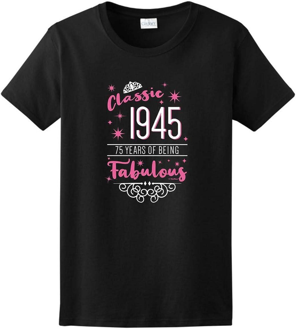 CLASSIC 1945 ALL ORIGINAL PARTS Mens Cotton Birthday T-Shirt