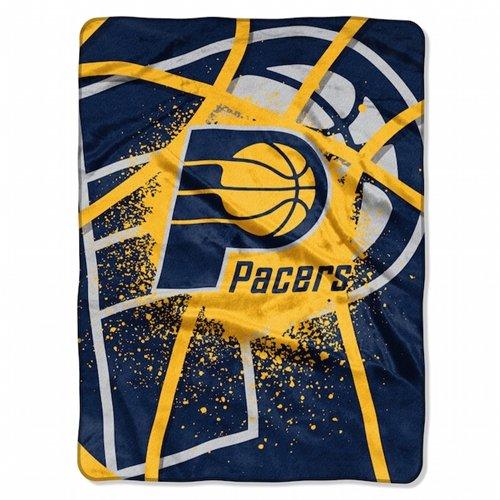 60' Royal Plush Blanket - Indiana Pacers 60''x80'' Royal Plush Raschel Throw Blanket - Shadow Play Design