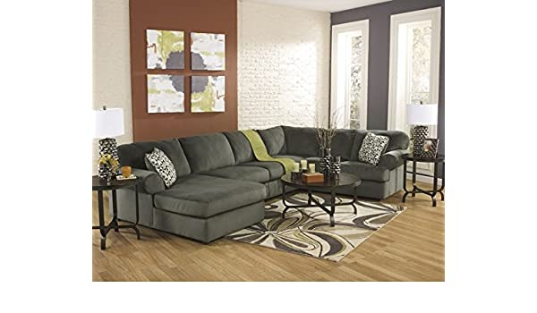 Peachy Amazon Com 3 Pc Jessa Place Ii Collection Pewter Fabric Uwap Interior Chair Design Uwaporg