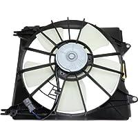 MAPM Premium RDX 07-09 RADIATOR FAN ASSEMBLY, LH, Single Fan