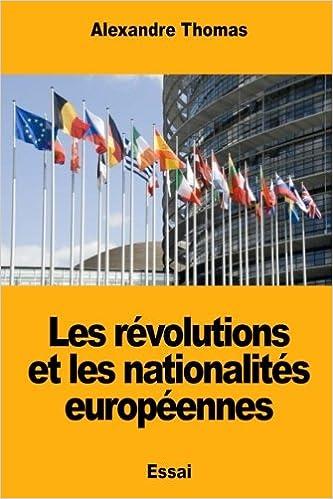Les révolutions et les nationalités européennes: Amazon.es ...