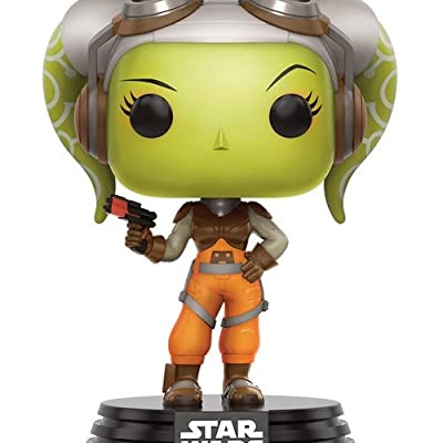 Funko Star Wars Rebels Hera Pop Figure: Funko Pop! Star Wars:: Toys & Games