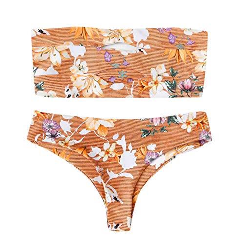 Tops Sets 2019 stukken Bandeau Bikini Dames Zomerkleding Kanlin1986 J Twee Slips Thongs Badmode wZFT48Cq
