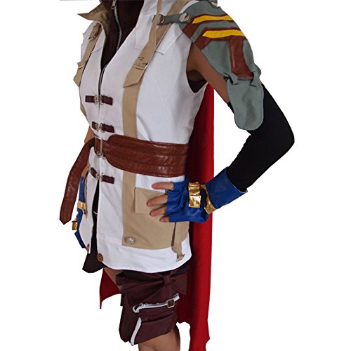 fantasycart Brand New Final Fantasy XIII Lightning Halloween Cosplay Costume (Size M)