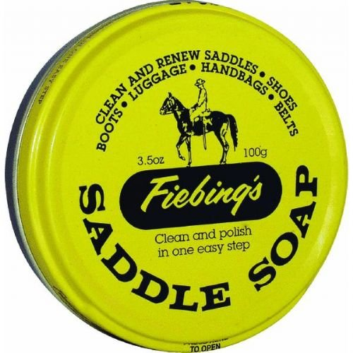 Fiebing's Saddle Soap, 3 oz, Yellow (Saddle Fiebings Soap)