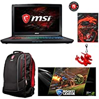 MSI GP62X Leopard-1046 15.6 Gaming Laptop - Intel Core i7-7700HQ, GTX1050, 16GB DDR4, 1TB, Win10 + Gaming Bundle
